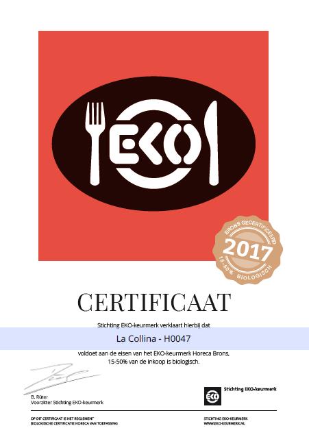 eko-certificaat-la-collina